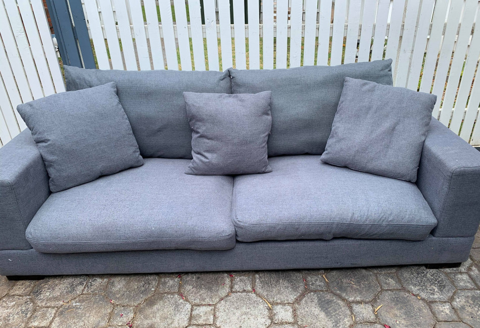 3 Seater Grey Couch