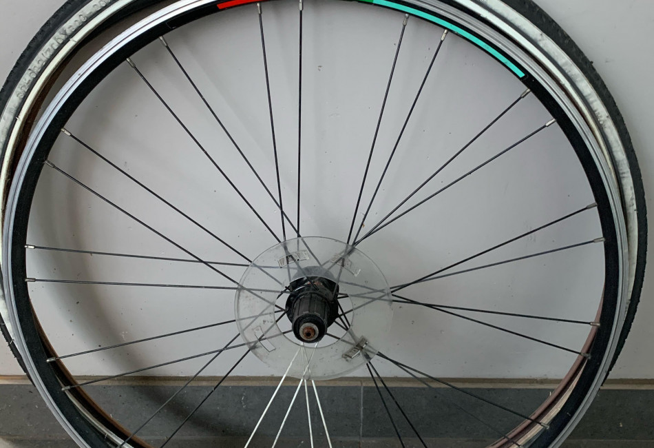 Spare Bicycle Wheel