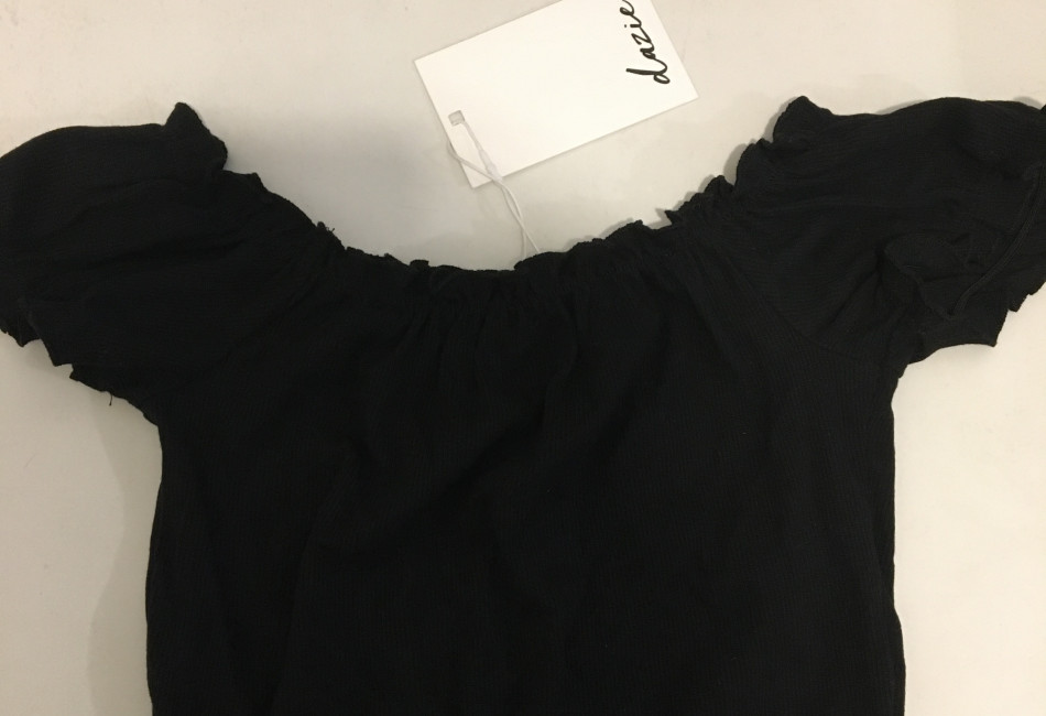 Black crop top (brand new with tag)