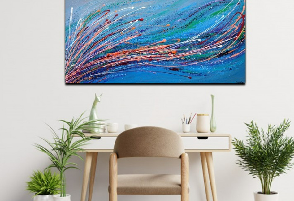 Seaweed- Abstract Painting