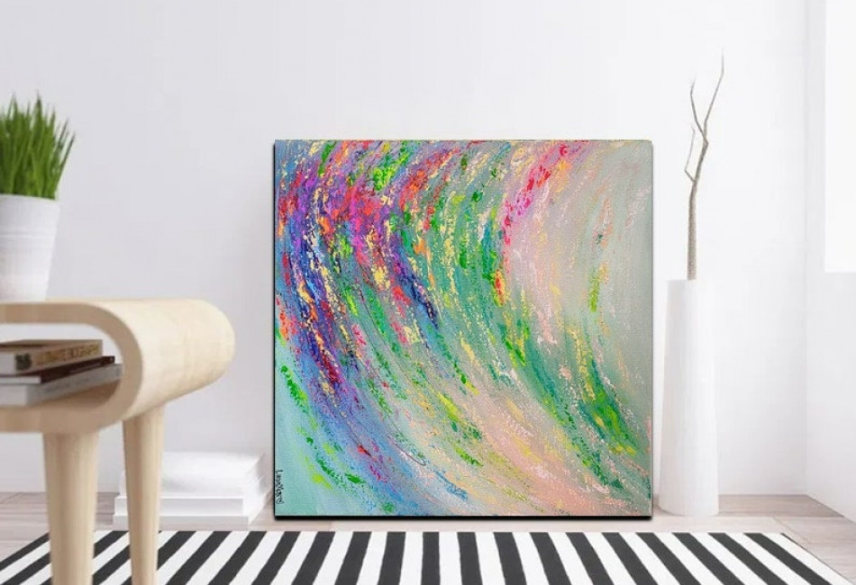 Oasis - Abstract Painting