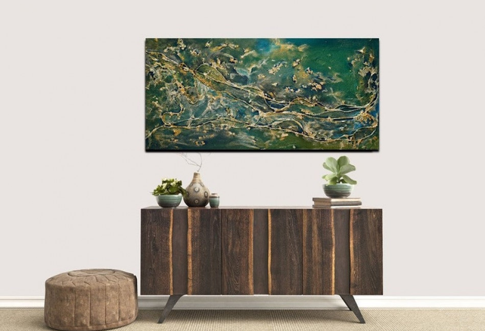 Deep - Abstract Painting
