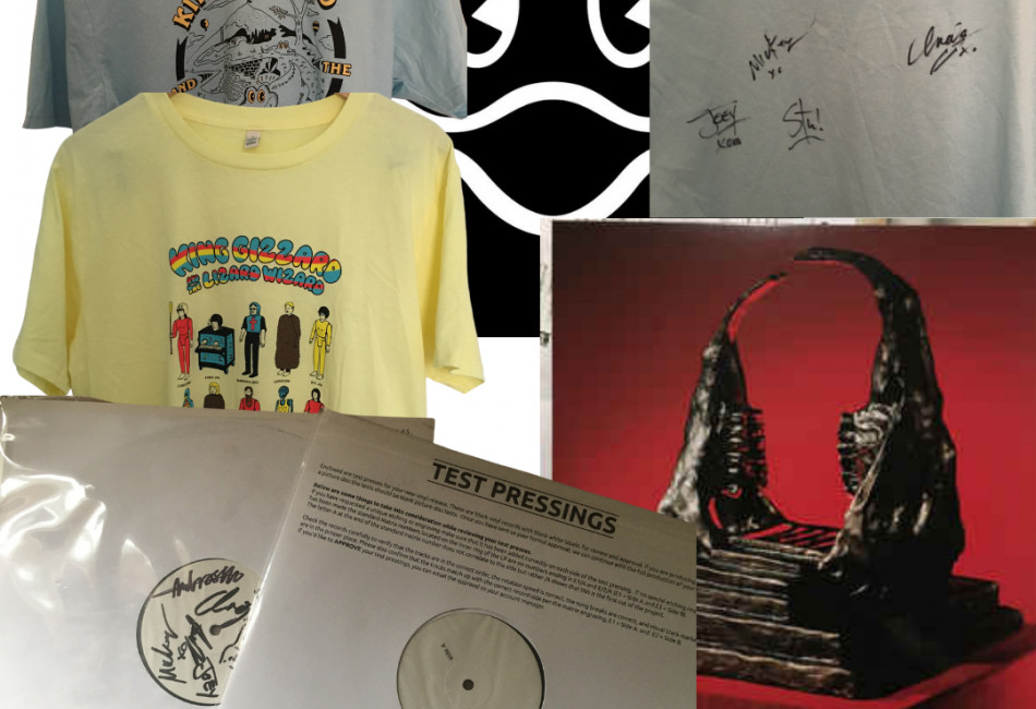 Exclusive signed vinyl and merch from King Gizzard & the Lizard Wizard