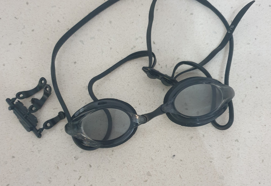 BRAND NEW Vorgee Missile competition swimming goggles with tinted lens. Never been used. RRP $34.95