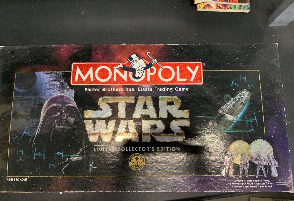 Monopoly Board Game - Star Wars Limited Edition