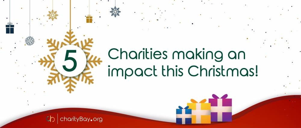5 Charities making an impact this Christmas!