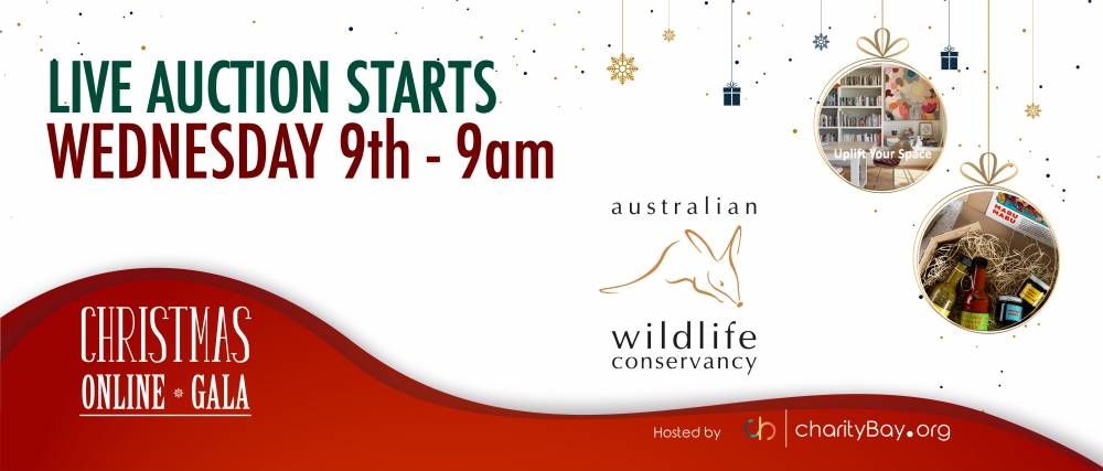 Australian Wildlife Conservancy: Christmas Gala