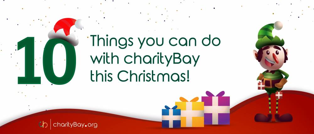 10 Things you can do with charityBay this Christmas