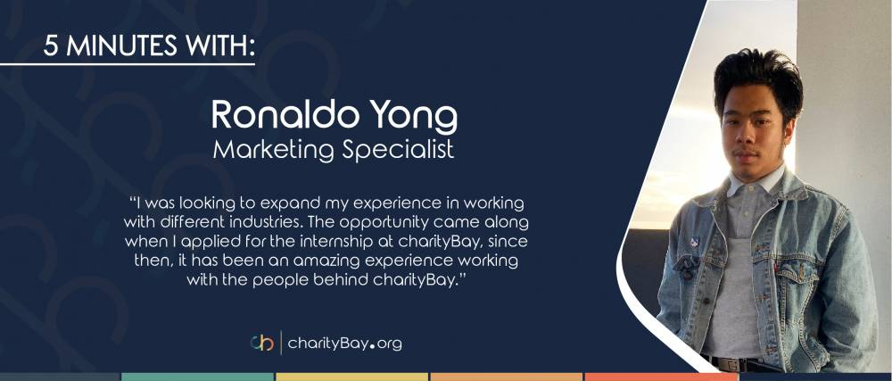 5 Minutes with Ronaldo Yong - Marketing Specialist for charityBay