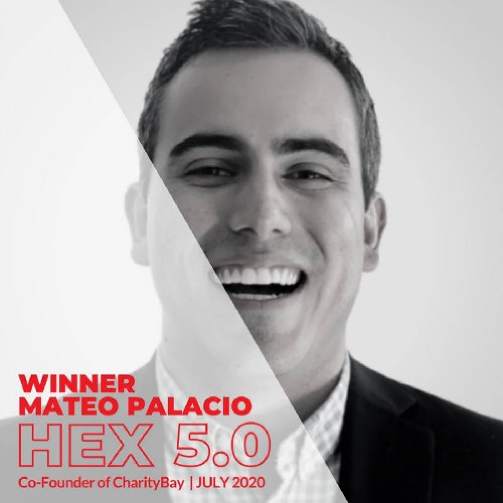 charityBay receives 1st Prize on Hex 5.0 by Hacker Exchange!