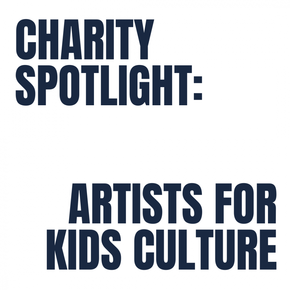 Charity Spotlight: Artists for Kids Culture